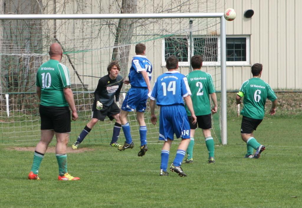 1. Nachholspieltag 2. Kreisklasse 2012/2013