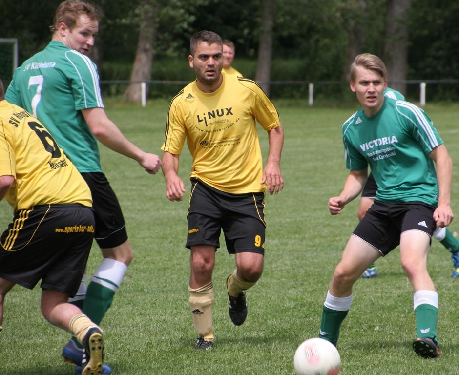 1. Spiel Qualifikationsrunde 2. Kreisklasse