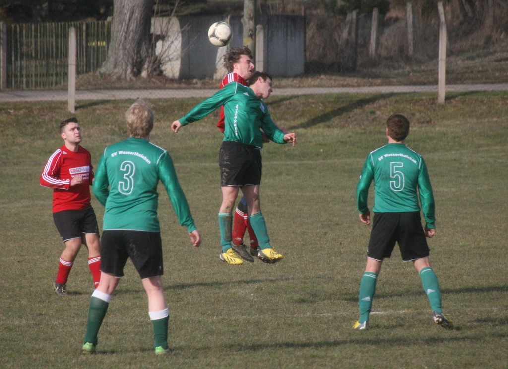 1. Vorbereitungsspiel Rückrunde 2014/2015