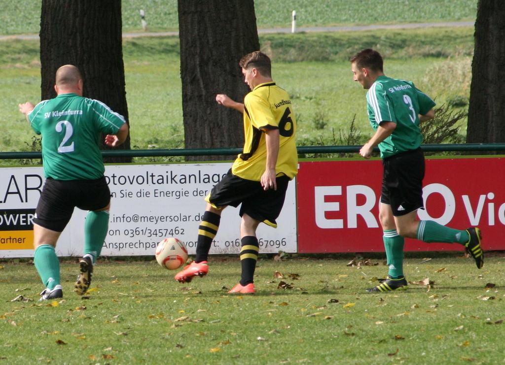 2. Runde Kreispokal Nordthüringen 2012/2013