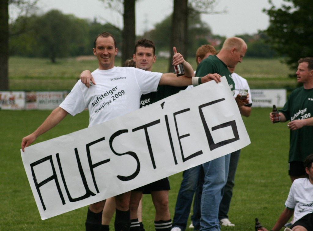 Aufstieg in die Kreisliga 2009