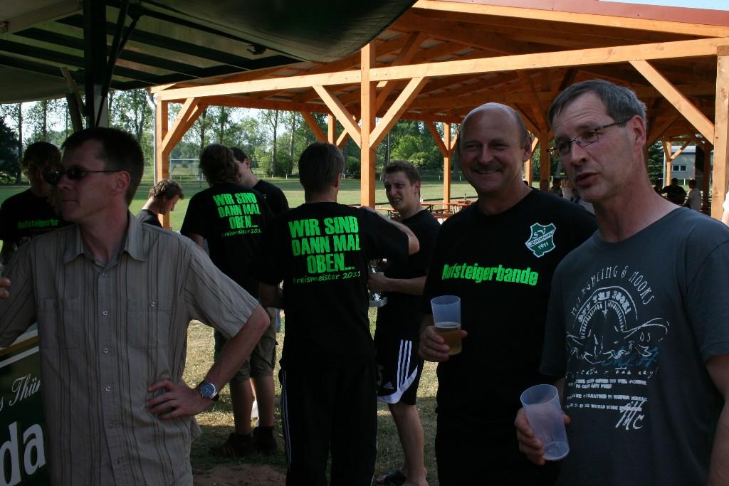 Aufstiegsfeier 2011