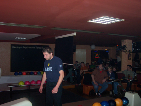 Bowling-Abend 2007