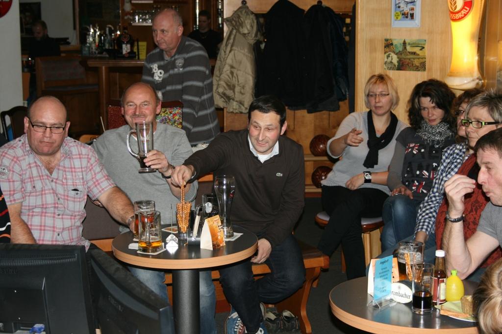 Bowling-Abend Alte Herren 2012