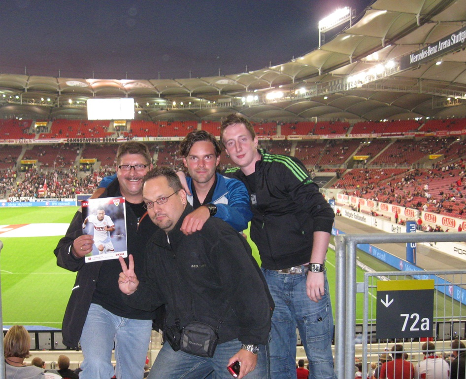 Groundhopping-Tour 2011