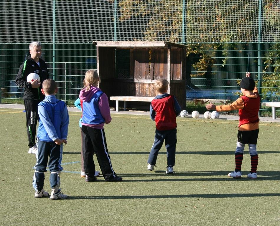 Trainingslager F-Junioren 2011