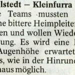 Vorbericht 22. Spieltag Kreisliga Nordhausen 2012/2013