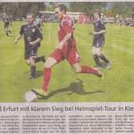 Spielbericht E.ON Heimspiel-Tour 2013