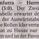 Vorbericht 26.Spieltag Kreisliga Nordhausen 2012/2013