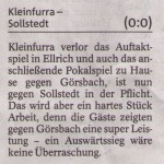 Vorbericht 2.Spieltag Kreisliga Nordhausen 2013/2014