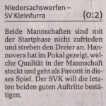 Vorbericht 5. Spieltag Kreisliga Nordhausen 2013/2014