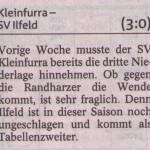 Vorbericht 6. Spieltag Kreisliga Nordhausen 2013/2014