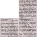 Spielbericht 10. Spieltag Kreisliga Nordhausen 2013/2014