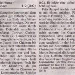 Spielbericht 22. Spieltag Kreisliga Nordhausen 2013/2014