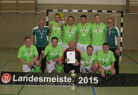 Landesmeister Futsal 2015